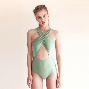 Movom	  Langkawi Front Cross Swimsuit