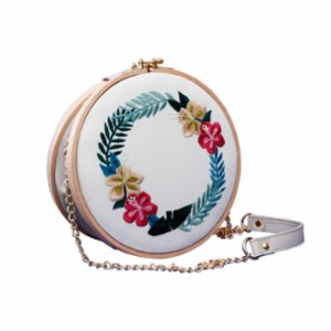 Hooop The Bag  Tropic Wreath Bag