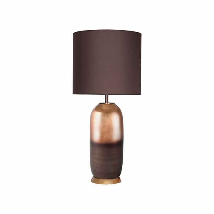 Öney Copper Brown Textured Glass Lampshade