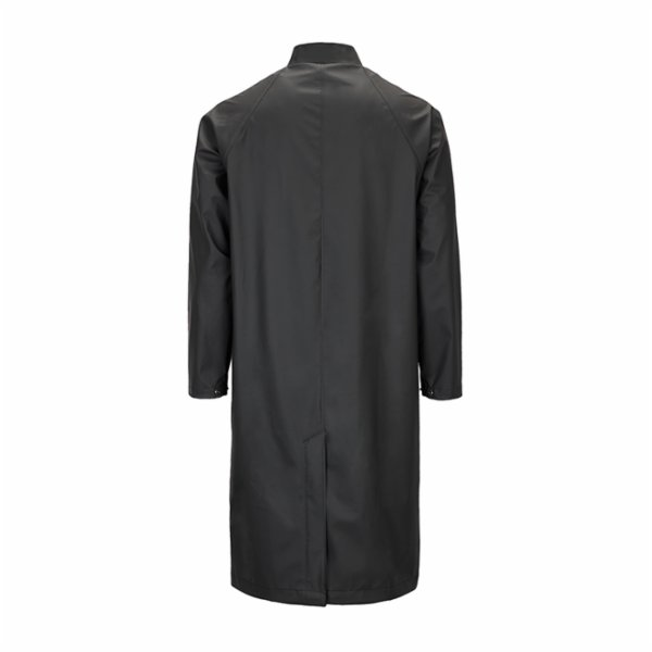 Rains Mackintosh Jacket Raincoat - Black