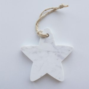 Marbleous  Xmas Ornament - Star