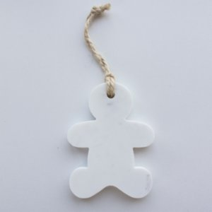 Marbleous  Xmas Ornament - Man
