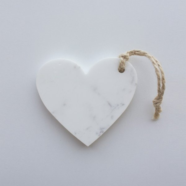 Marbleous Xmas Ornament - Heart
