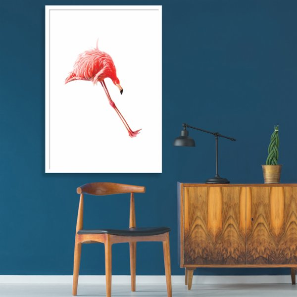 Action Zebra	 Jump Flamingo Art Print