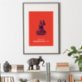 Action Zebra	 Buddhaful Day Art Print