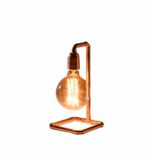 Bakır İstanbul  Pipe-Up Copper Table Lamp