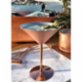 Bakır İstanbul Musketeers Copper Martini Glass