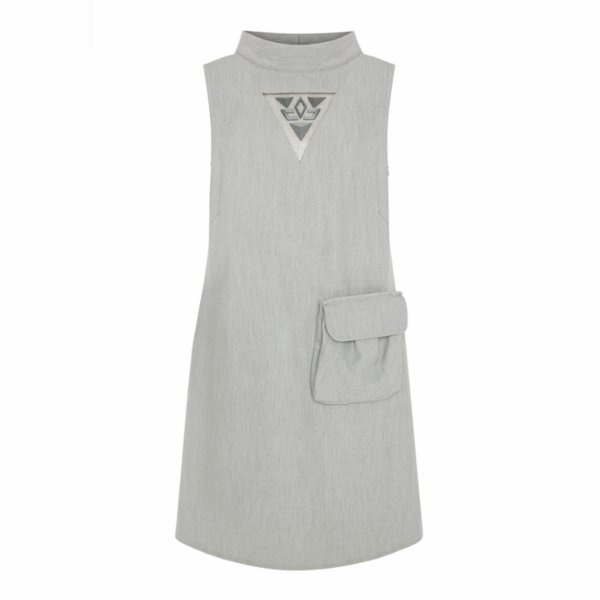 Mirimalist 	 Cut-Out Dress