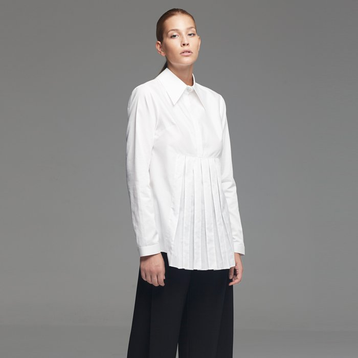 White Posture Clear Enough Shirt