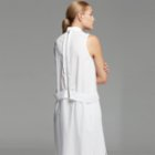 White Posture Interface Shirt