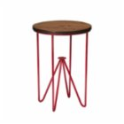 Soupente Pointed D Stool / Side Table