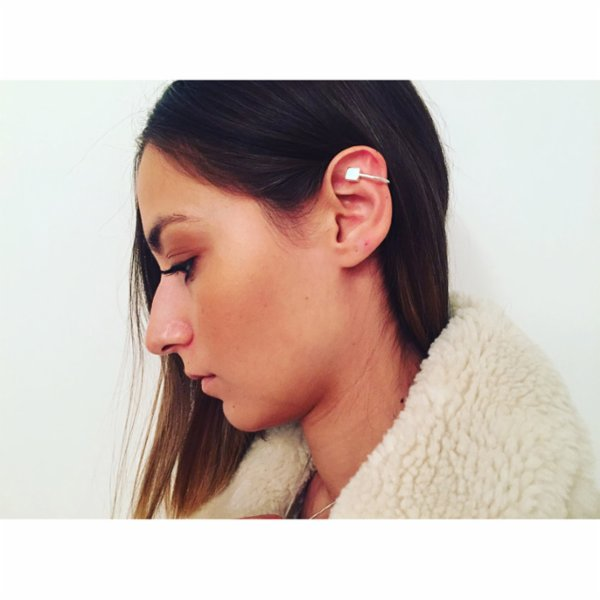 [Add]Tension Earcuff Square