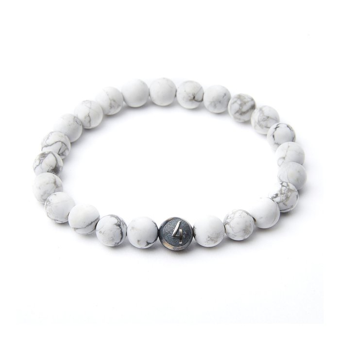 4Fellas White Force Bracelet