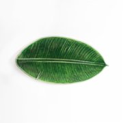 Le Muguet  Rubber Fig Leaf Plate