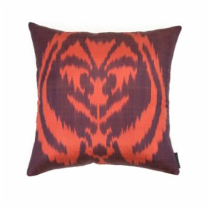 Mekhann  Ikat V Silk Pillow Case