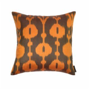 Mekhann  Ikat VI Silk Pillow Case