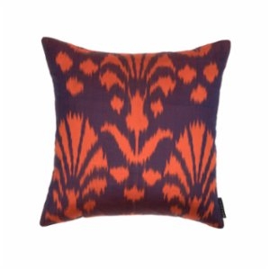 Mekhann  Ikat VIII Silk Pillow Case