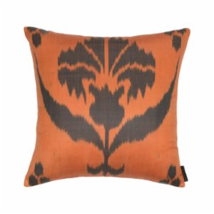Mekhann  Ikat X Silk Pillow Case