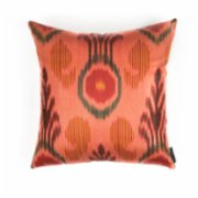 Mekhann  Ikat IX Silk Pillow Case