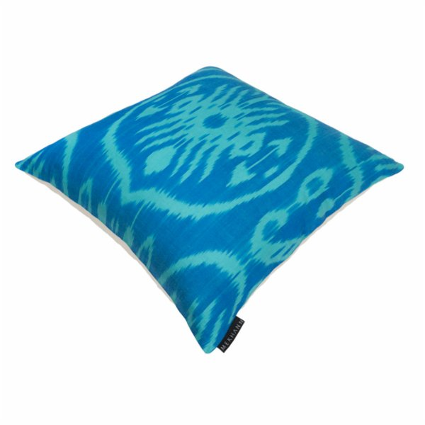 Mekhann Ikat XII Silk Pillow Case