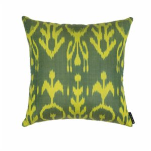 Mekhann  Ikat XVI Silk Pillow Case