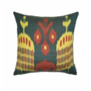 Mekhann  Ikat XIV Silk Pillow Case - II