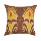 Mekhann Ikat XIV Silk Pillow Case