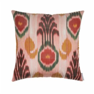 Mekhann  Ikat XIV Silk Pillow Case - V