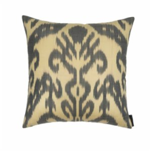 Mekhann  Ikat XIV Silk Pillow Case - VI