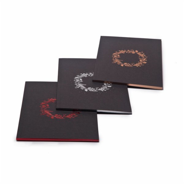 Sade Atölye	 Shining Garland Notebook - 3Set