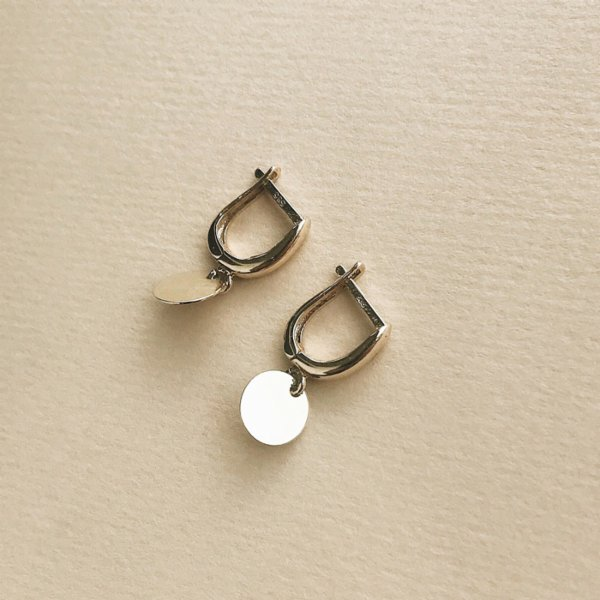 Caged Bird Design Swing Eardrop