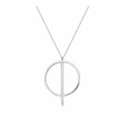 Caged Bird Design  Infinity Necklace