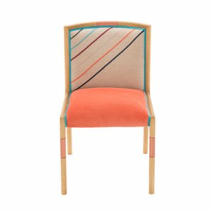 Alpaq Studio  Cross Corduroy Chair