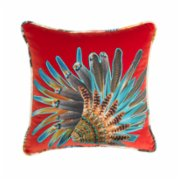 Alpaq Studio  Velvet Cushion With Applique Detail I