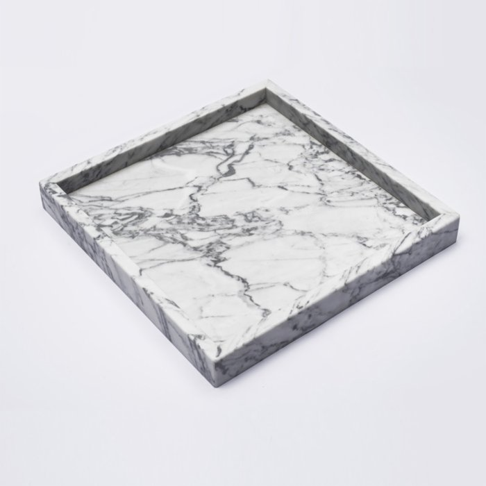 MarbLove	 Daily Basic Square Tray