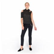 113 Studio  One Shoulder Knitted Top