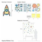Figg Outer Space Wall Sticker