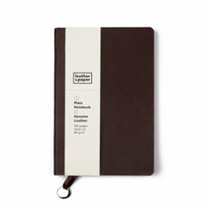 Leather & Paper   Leather Notebook