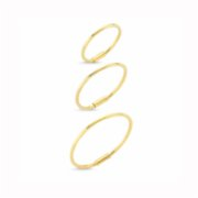 Zeyy Jewelry & Diamond	  Hola Hoop Earring