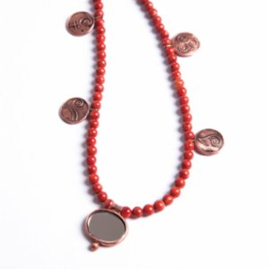 Mesele  Colorful Besibiryerde - Coral Gemstone (Luck)