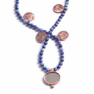 Mesele  Sodalite Inner Peace - Colorful Besibiryerde