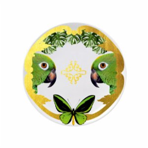 Katzze  Jungle  Butterfly Plate