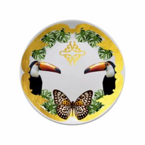 Katzze  Jungle Tucan Plate