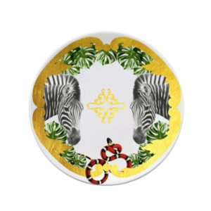 Katzze  Jungle Zebra Plate
