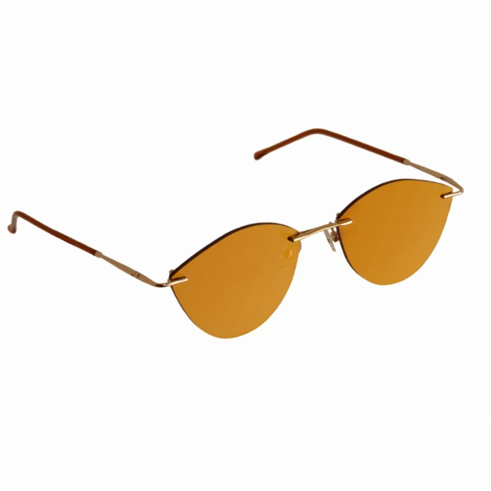 Elia Sunglasses	 Gold Hepburn Women's Sunglasses