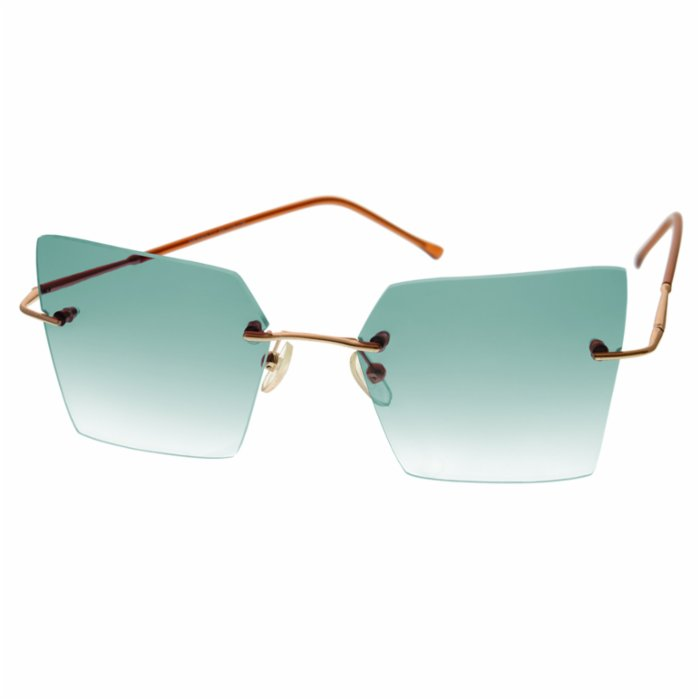 Elia Sunglasses	 Green Monroe Women's Sunglasses
