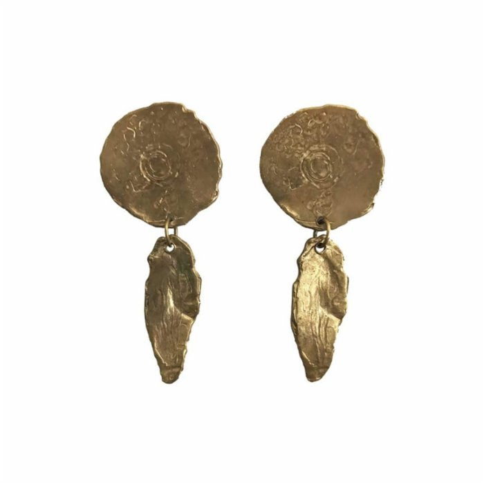 Mihaniki Design	 Irene Feather Earrings