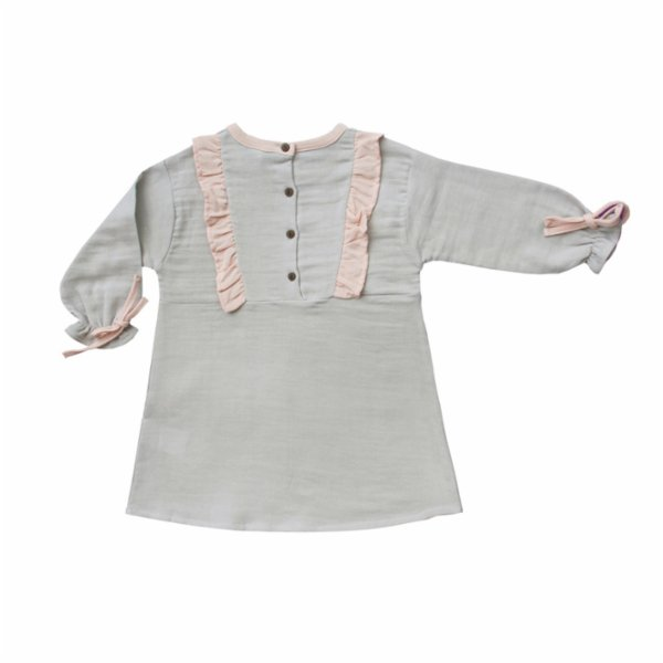 Auntie Me Organic Rhino Long Sleeve Dress