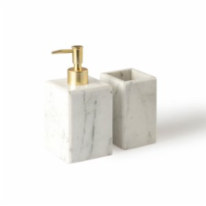 MarbLove	  Marble Bathroom Set