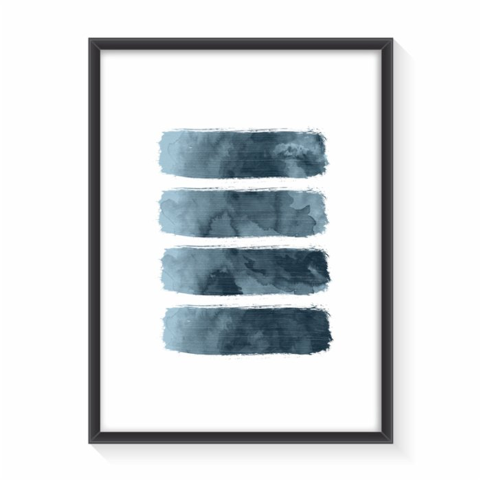 Normmade Brush Blue Print